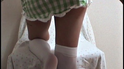 Japanese foot, Upskirts, Japanese panties