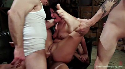 Gangbang, Outdoor sex, Ebony ride, Gangbang anal, Ebony riding dick, Ebony bondage