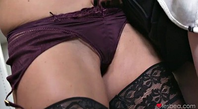 Sexy lingerie, Office lesbian