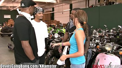 Big black, Interracial teen