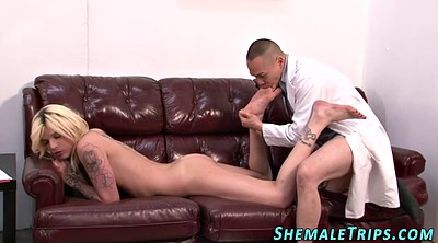 Cumming, Shemale feet, Shemale cum