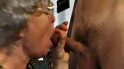 German mature, Hairy granny