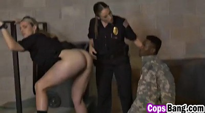 Busty, Soldier, Female cop, American