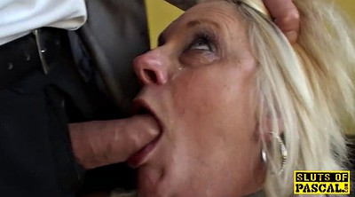 Granny ass, Granny anal, Facefucking