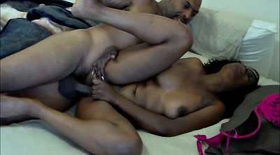 Ebony homemade, Had, Clit play