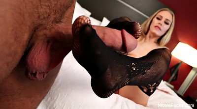Footjob, Nicole aniston
