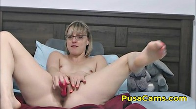 Hairy pussy, Glasses, Teacher sex, Hairy pussy solo