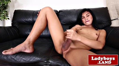 Ladyboy, Asian big, Ladyboy solo, Asian ladyboy