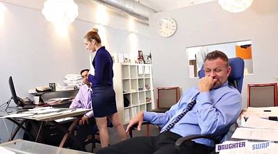 Teen fuck, Office sex
