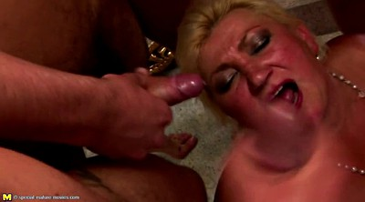 Old granny, Mature group, Youngster, Old gangbang