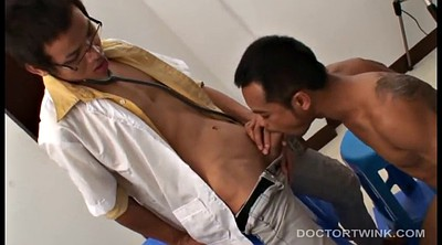 Twink, Asian gay, Doctors, Asian doctor, Olive