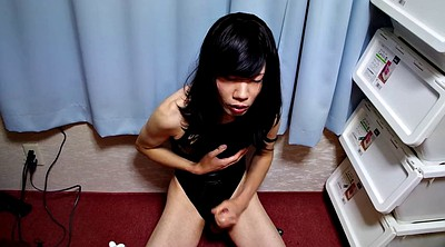 Swimsuit, Asian masturbation, Crossdressers, Asian crossdresser
