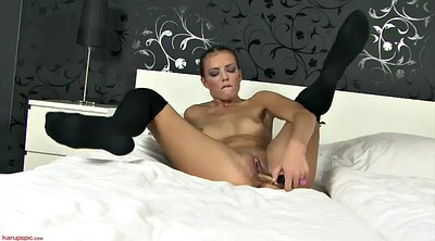 Bed, Dildo orgasm, Bed sex