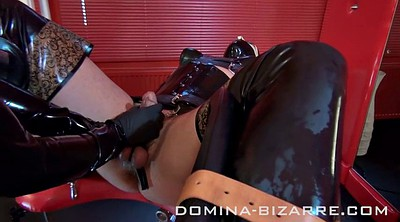 Extreme, Latex femdom, Anal extreme