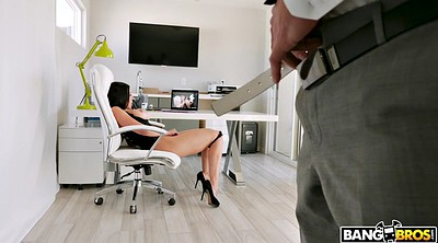 Watching porn, Office masturbation, Rachel starr