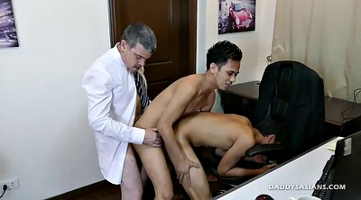 Old gay, Asian granny, Old and young, Grannies, Granny threesome, Old and young threesome