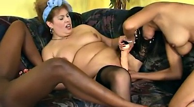 Chubby white, White chubby, Fisted, Chubby interracial, Black woman