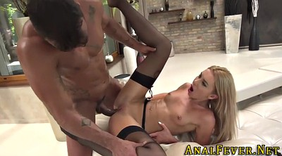 Gape, Interracial anal