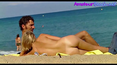 Beach, Spy, Nudist, Spy cam, Hidden couple, Beach voyeur