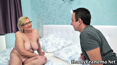 Grandma, Hd granny, Mature glasses, Mature blond