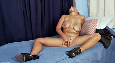 High, High-heeled, High heels masturbation