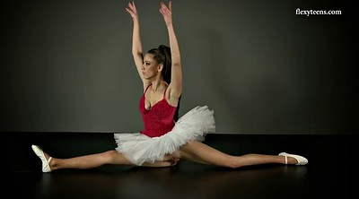 Ballet, Skirt, Teen solo, Ballerina, Under skirts, Upskirts