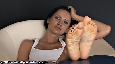 Nylon feet, Nylon foot, Nylon tease, Foot tease