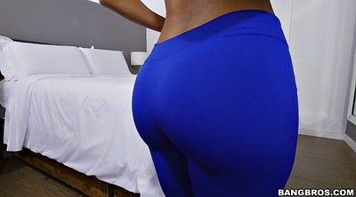 Yoga, Latina ass