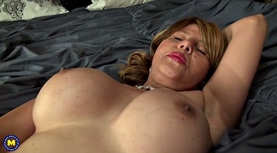 American, With mom, Granny big tits, American mom