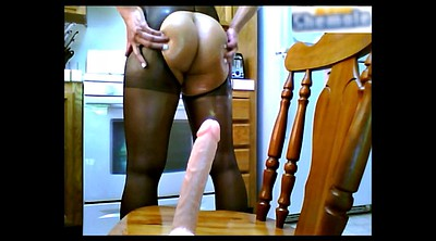 Shemale pantyhose, Homemade shemale