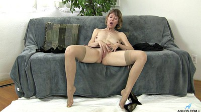 Stockings solo, Stockings masturbation, Solo stockings