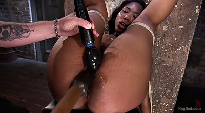 Spanking, Chanel p, Hairy chubby, Ebony slave, Chanel, Black hairy
