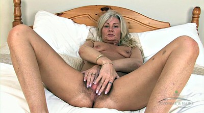 Granny solo, Mature hairy solo, Mature hairy, Blonde hairy