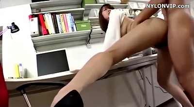 Japanese pantyhose, Japanese office