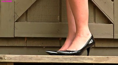 High heels, Shoeplay