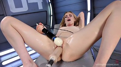 Machine, Blond, Squirt fuck, Sex machines, Mona wales