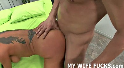 Wife watching, Watching wife, Man pussy, Femdom riding