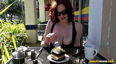 Eat, Solo big boobs, Nature, Cake