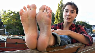 Teen foot, French teen