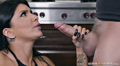 Kitchen, Romi rain, Tit job, Blow job, Tits job, Blow jobs