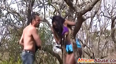 African, Tied, Blow job