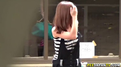 Public, Public piss, Pee outdoor, Japanese outdoor, Teen pee, Public japanese