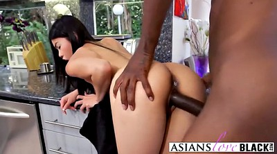 Asian black, Blacked asian, Bend over, Asian blacked, Small pussy