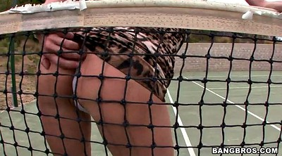 Veronica avluv, Sports, Softcore, Tennis