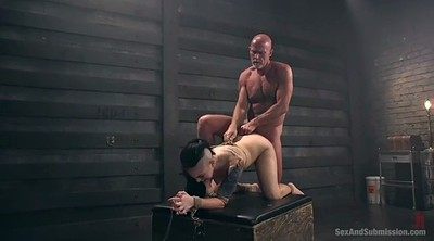 Punished, Slave sex, Bondage anal