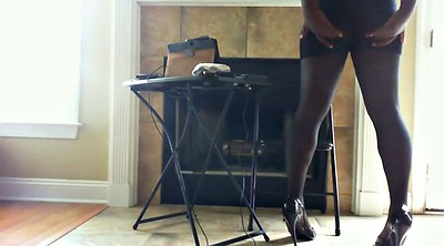 Pantyhose, Big foot, Foot tease, Ebony feet, Black feet