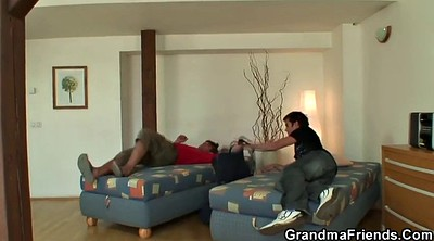 Wife threesome, Old woman, Old granny