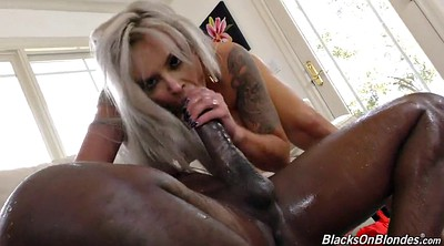 Squirting, Black on blondes