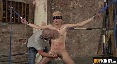 Tied, Tied handjob, Handjobs, Bdsm gay