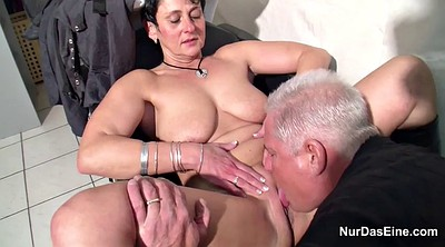 Money, German milf, Mother fuck